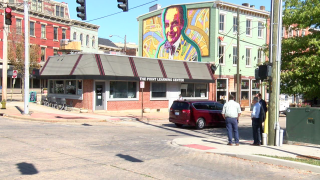 Ralph Haile BLINK Mural in Covington