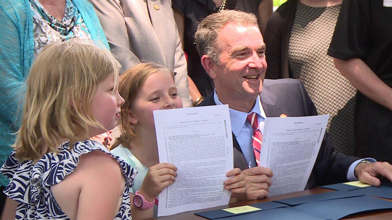 Gov. Northam signs law to remove autism health coverage agecap