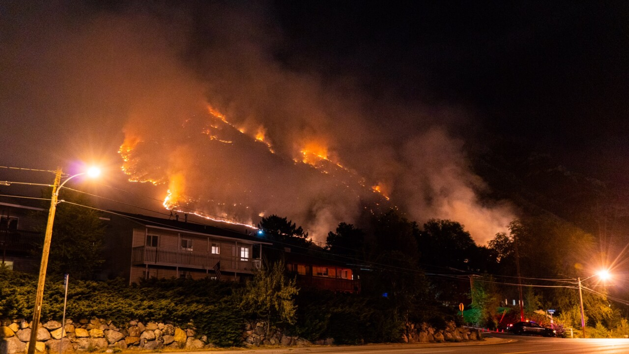 Alaska Fire burning on more than 400 acres in Provo