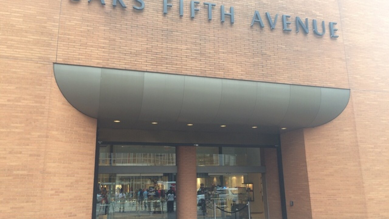PD: Thieves snatch high-end purses from Saks