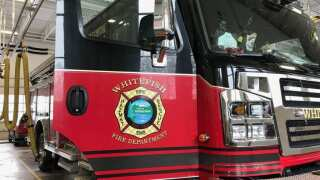 Whitefish Fire responds to a train fire early Sunday morning