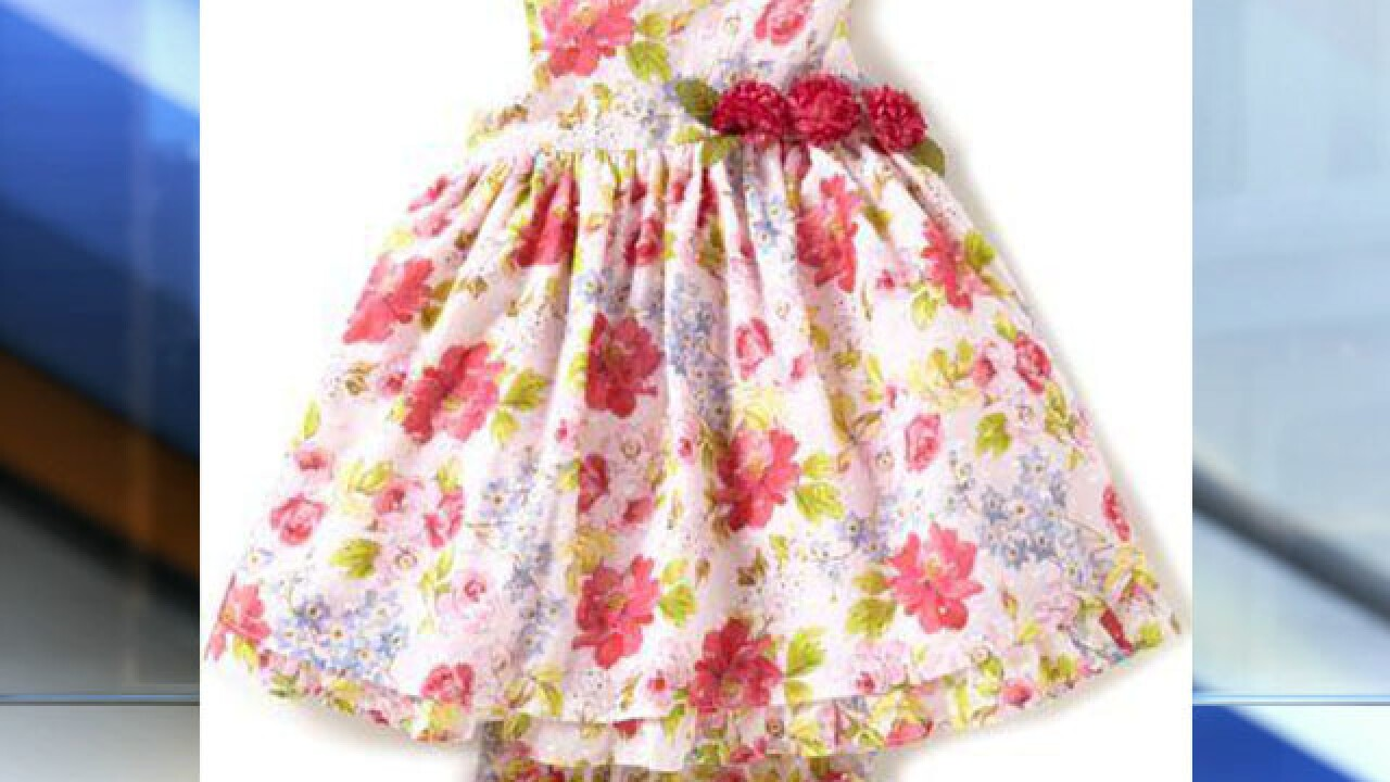 7f079c9b3ff Popular girl s dress sold at Dillard s and Amazon recalled due to a choking  hazard