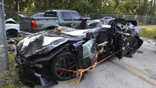 Tesla Model S Plaid involved in crash