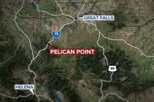 Pelican Point map