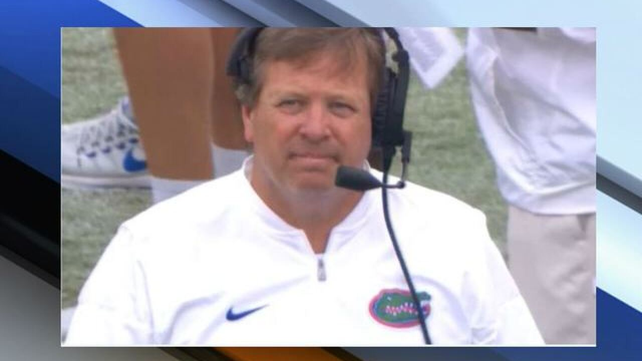 University of Florida parting ways with McElwain after blowout