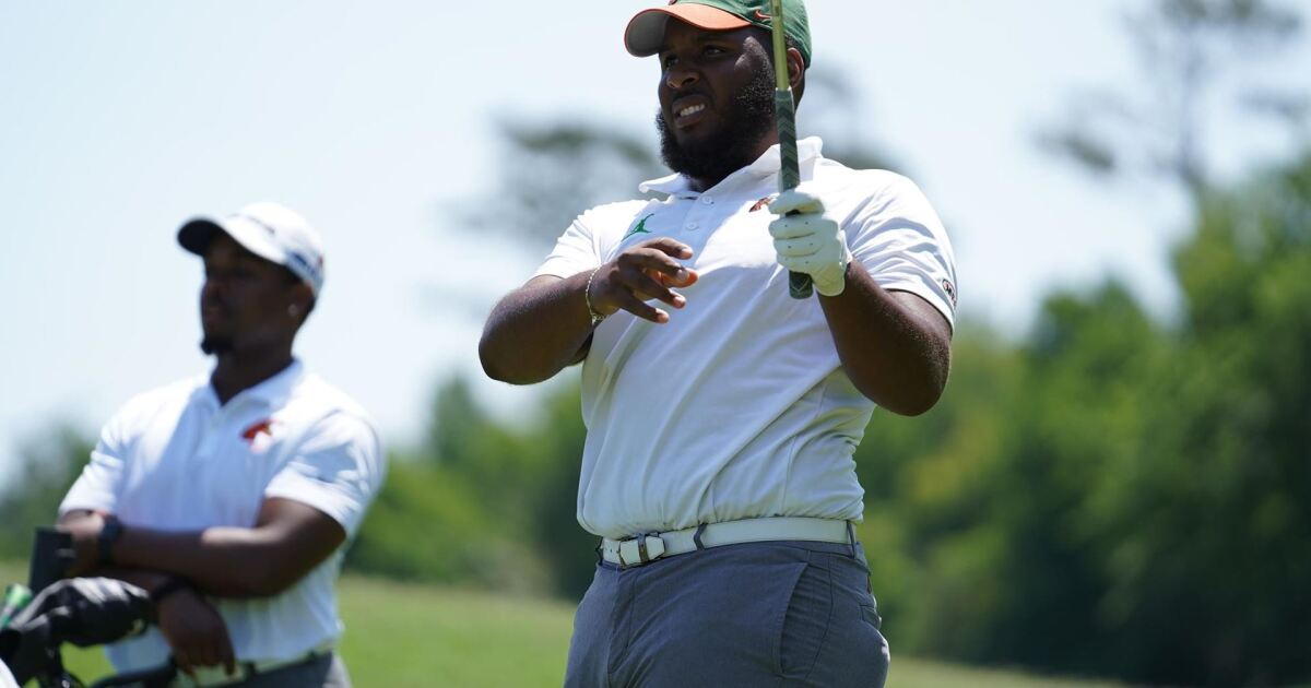 Florida A&M golf maintains 3rd place heading into final round of PGA Works Collegiate Championship - WTXL ABC 27