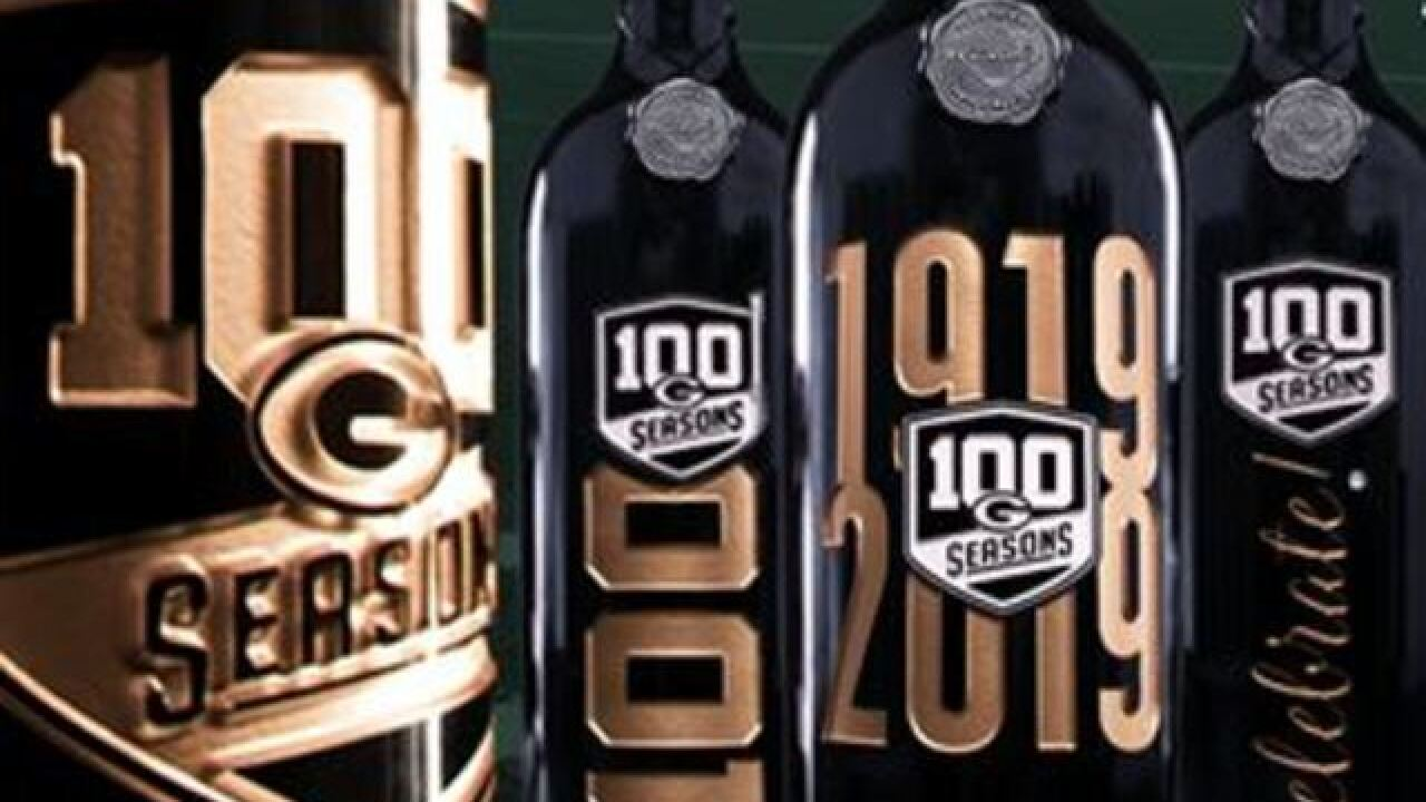 Winery pairs with Packers to commemorate the team's 100th season