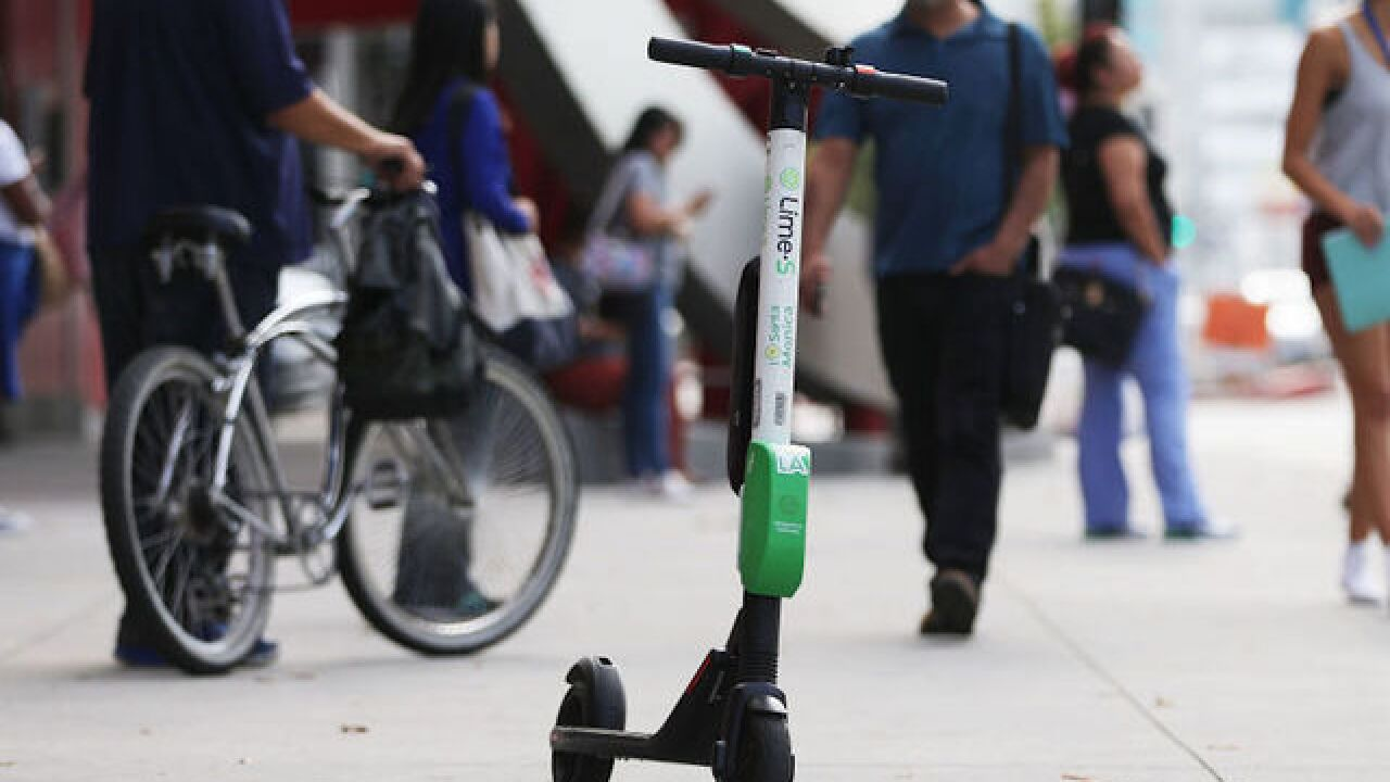 Lime scooters are breaking in half, so they've been recalled