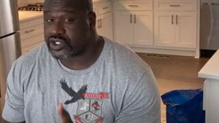 Basketball legend Shaquille O'Neal appeared in a school's public service announcement, giving out safety and social distancing advice to students.