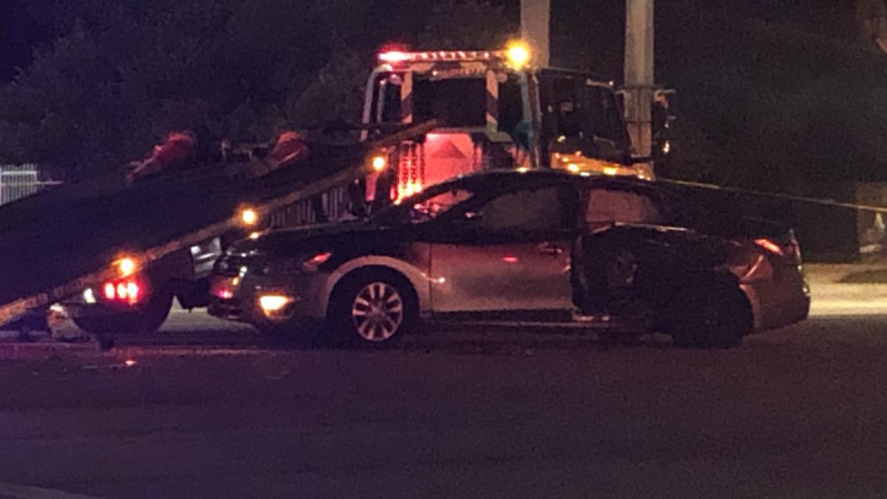 Car involved in shooting outside Boca Raton shopping center