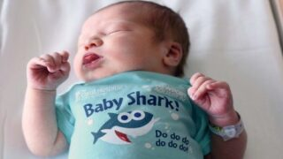 This Hospital Is Giving Babies Born During Shark Week Adorable Baby Shark Onesies