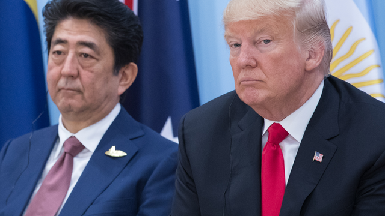 LIVE: Trump, Abe joint news conference