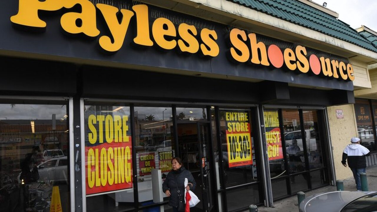 e5873f0aa We check out the Payless Shoe closing sales