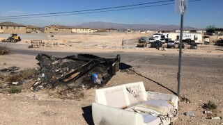 Toxic trash taking over public lands in Nevada