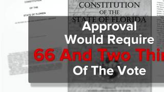 Bill would make it harder to amend Florida's constitution