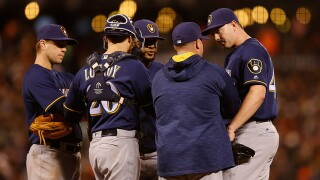 Brewers pitching coach Derek Johnson leaving team