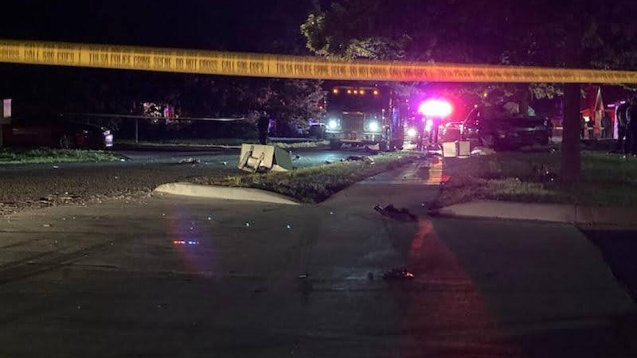 North Tulsa Car Accident 2