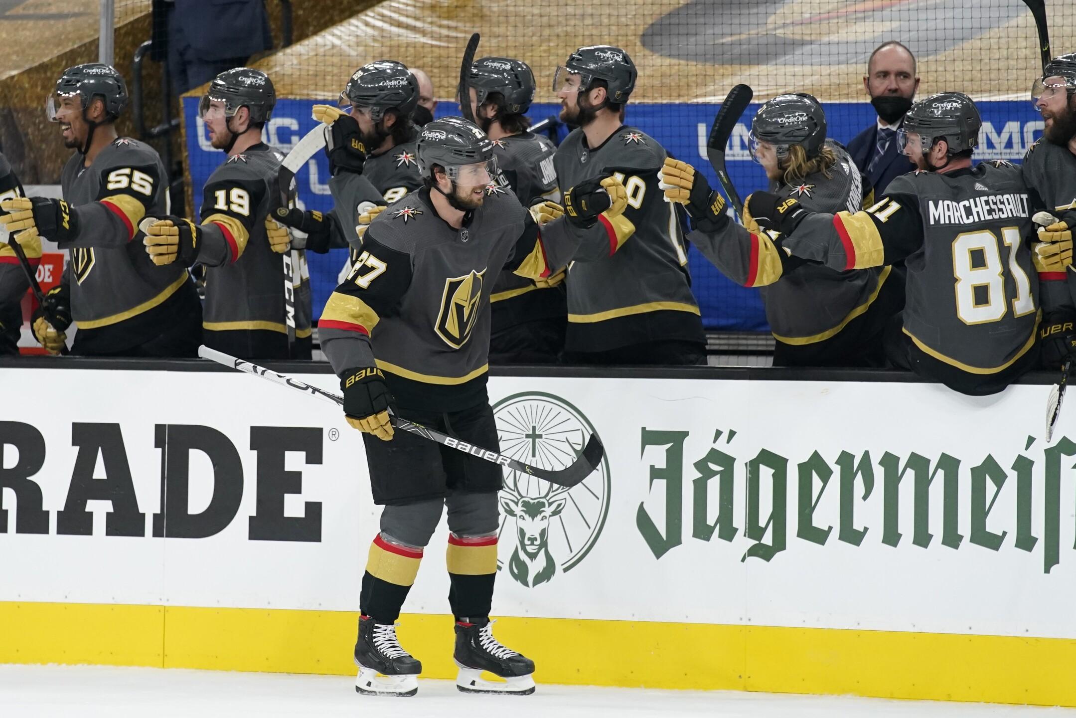 Canadiens Golden Knights Hockey
