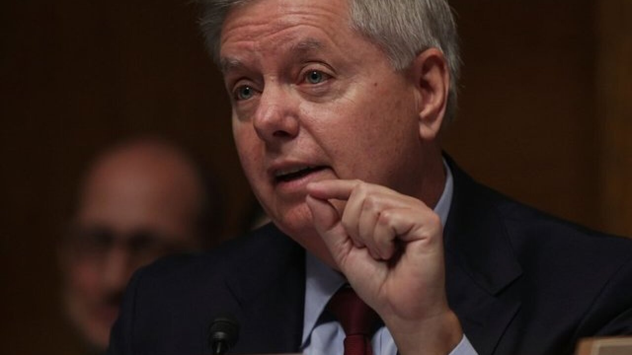 Sen. Lindsey Graham calls for Trump to re-nominate Kavanaugh should confirmation fail