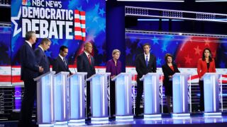 Democrats get feisty in final stages of first debate of 2020 campaign