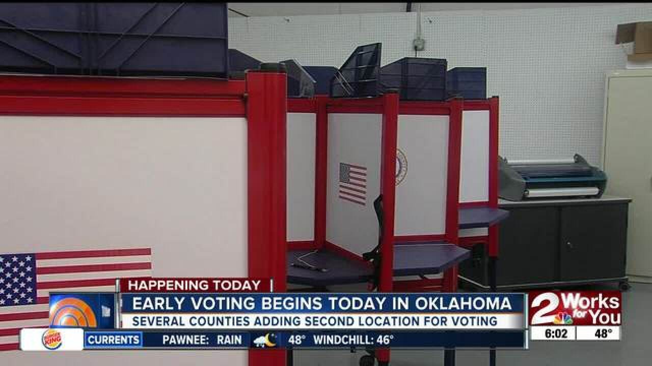 Early voting starts today: what you need to know