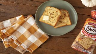 Pepperidge Farm Makes Pumpkin Spice Swirl Bread That's Perfect For Fall Mornings