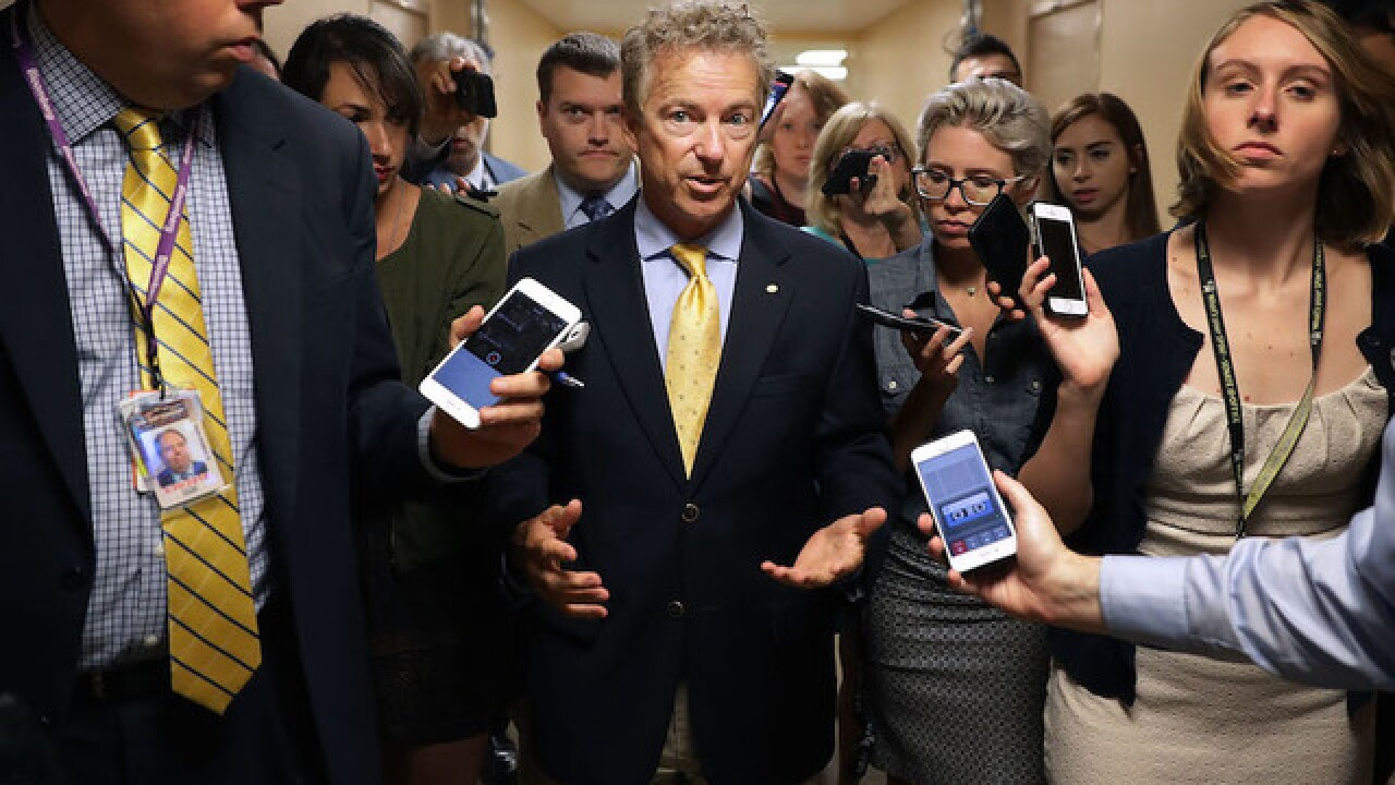 Sen. Paul deals blow to GOP health care efforts
