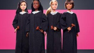 Mattel unveils its new career doll: Judge Barbie
