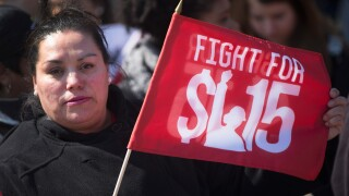 Nearly half of American workers have low-wage jobs, study says