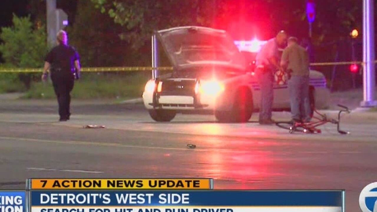 Woman killed in Detroit hit-and-run