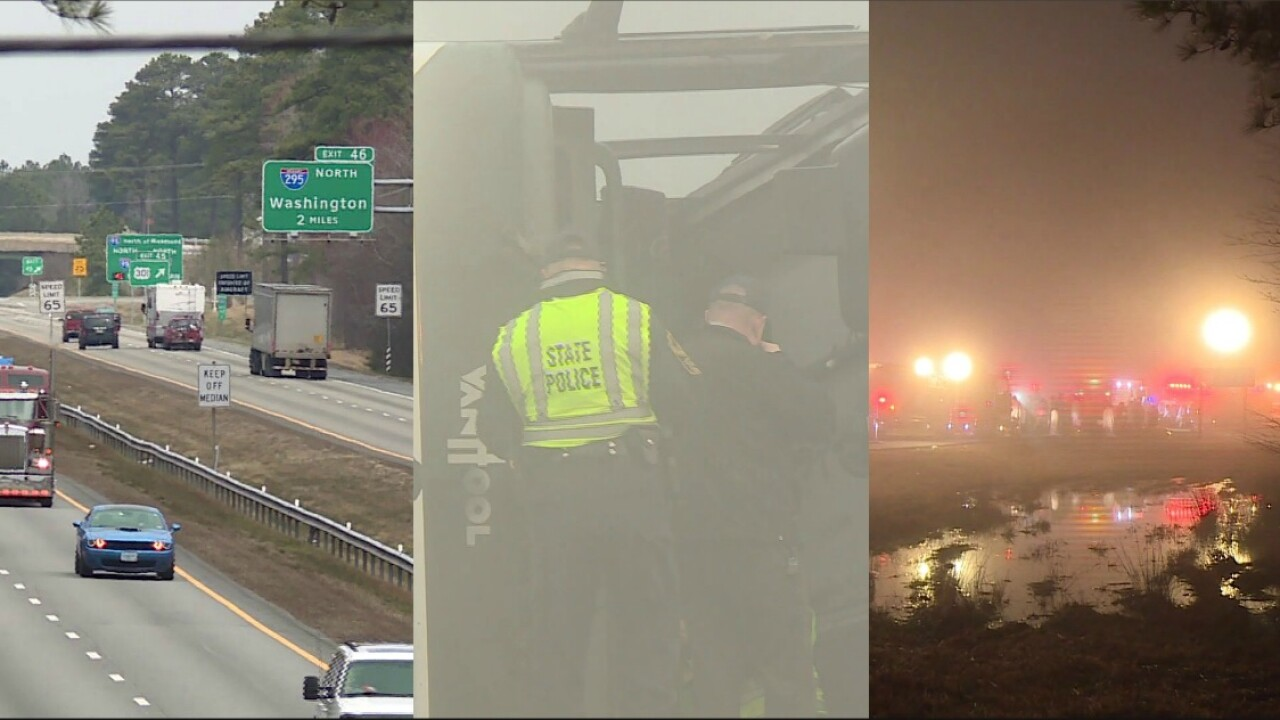 Man thinks 'confusing' sign may have caused deadly I-95 charter buscrash
