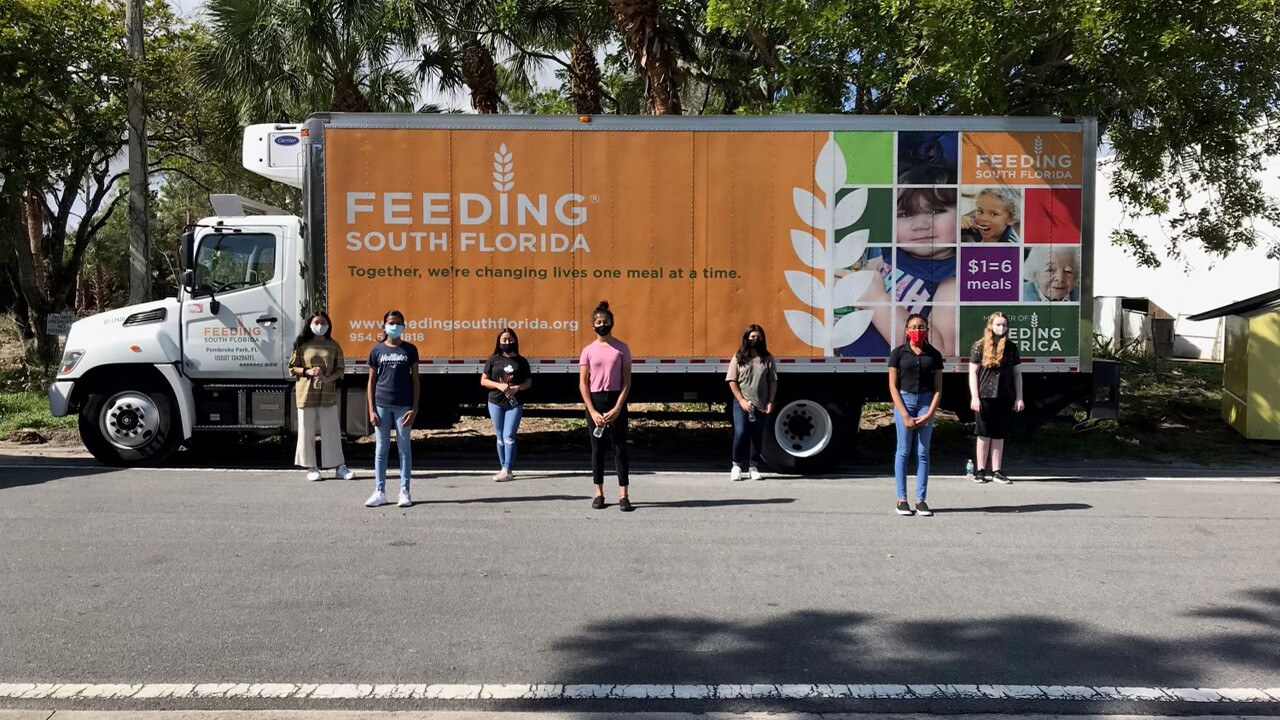 A group of Palm Beach County teens are working to better their community, one project at a time.
