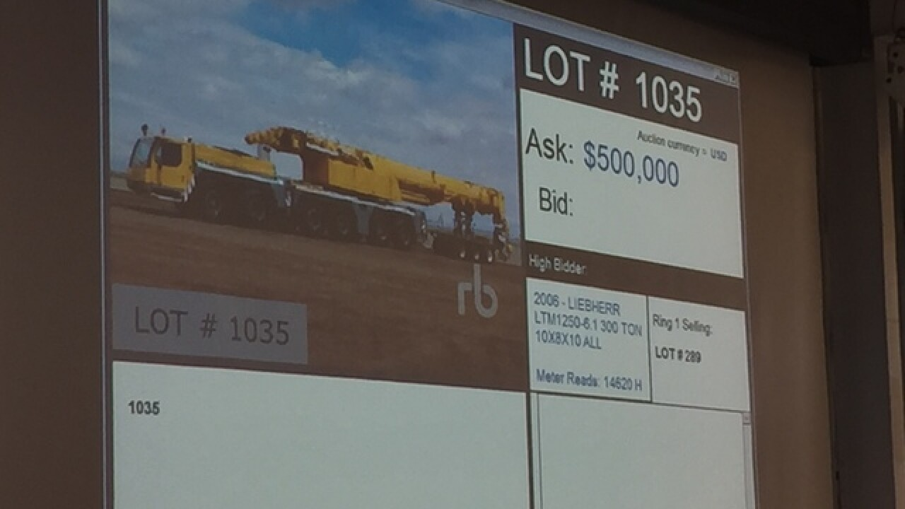 Ritchie Bros. holds 2nd largest Colorado auction
