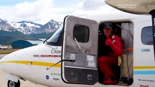 San Diego pilot completes pole-to-pole flight for world peace