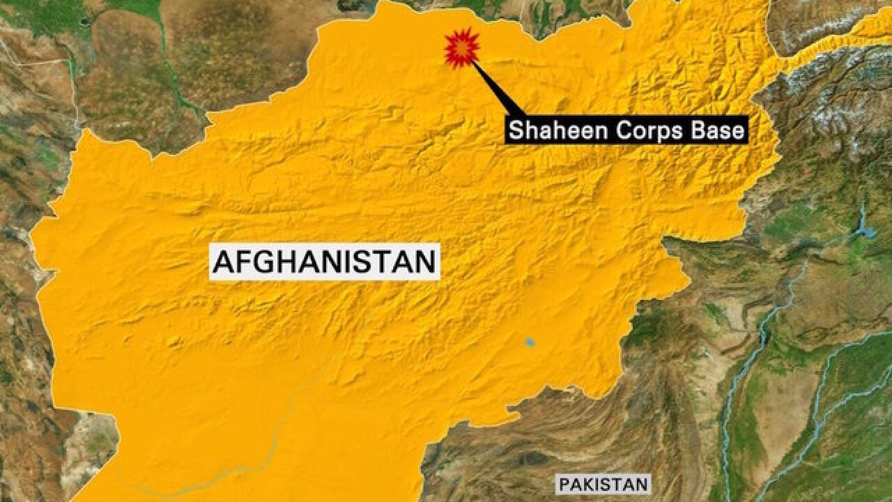 Taliban attacks Afghan base, 100 soldiers killed or hurt