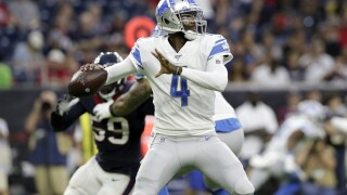 Lions backup QB job up for grabs with Tom Savage injured