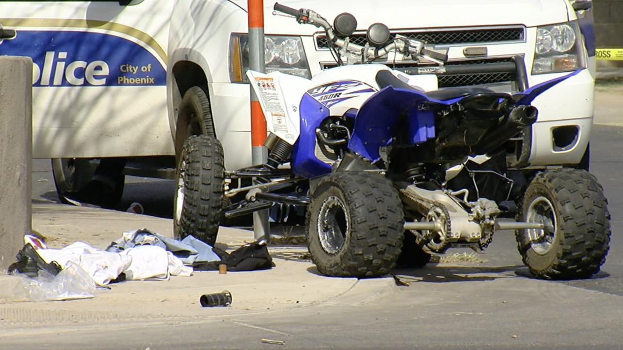 ATV collision near 65th and Virginia avenues