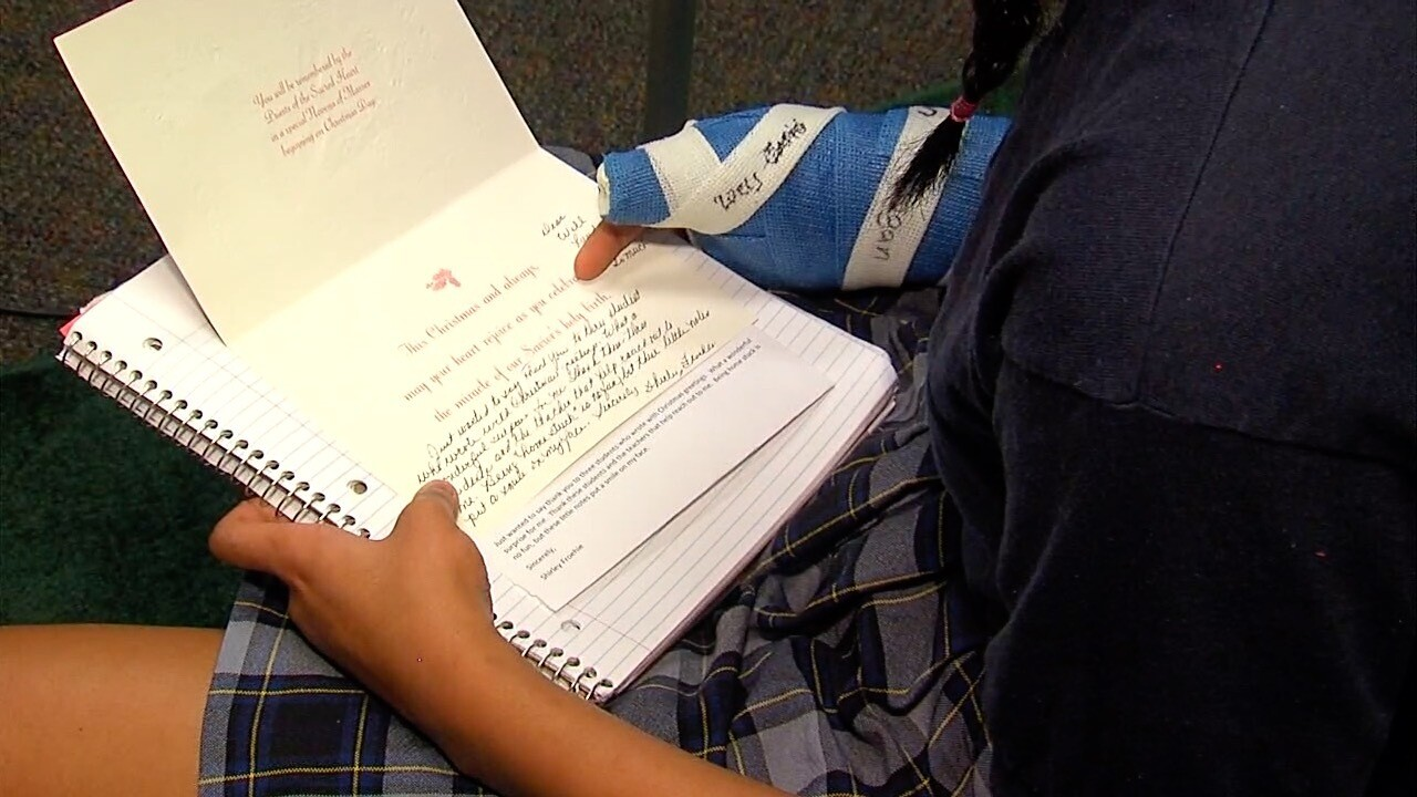 Pen Pals Students letters to seniors bring much-needed communication during COVID-19 isolation.jpg