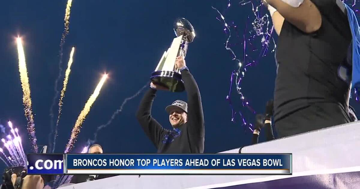 Boise State Broncos honor top players