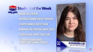 Student of the Week: Alexandra Lin