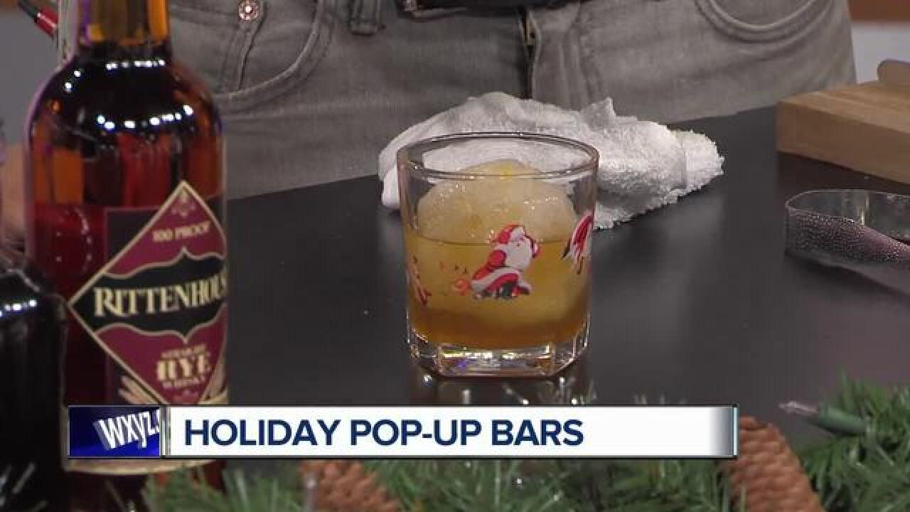 Miracle Pop Up Christmas Bar