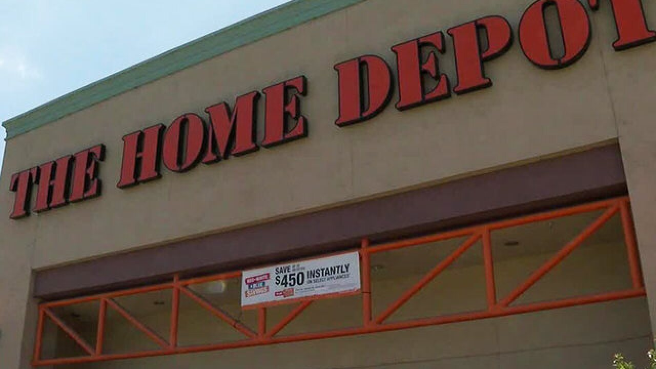 Man accused of stabbing worker at Home Depot