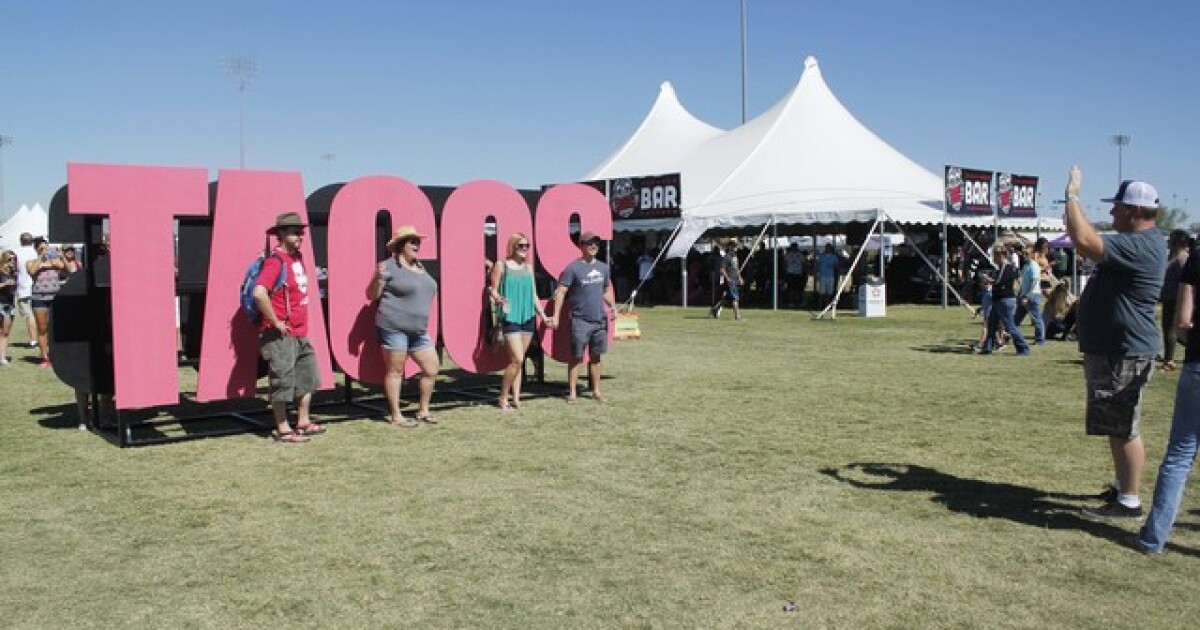 Arizona Taco Festival reveals dates for 2021 fall festival: How to get tickets