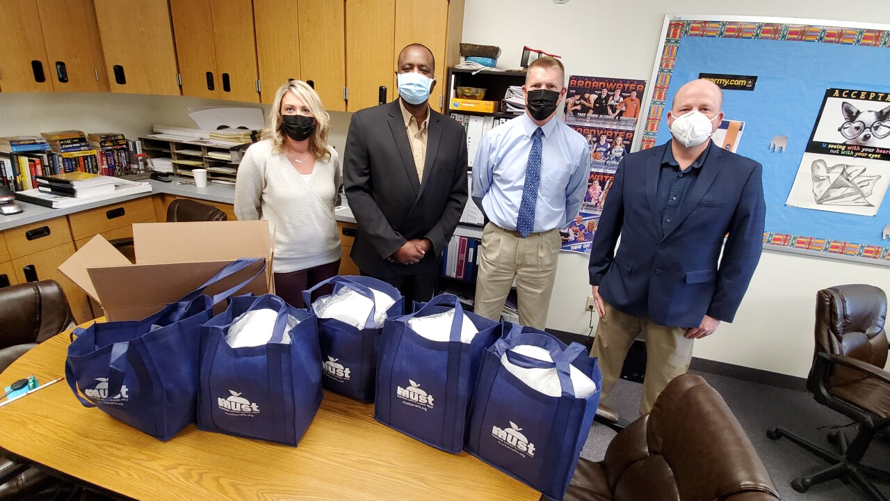 Townsend mask donation