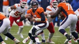 Drew Lock faces criticism for first time as NFL starter