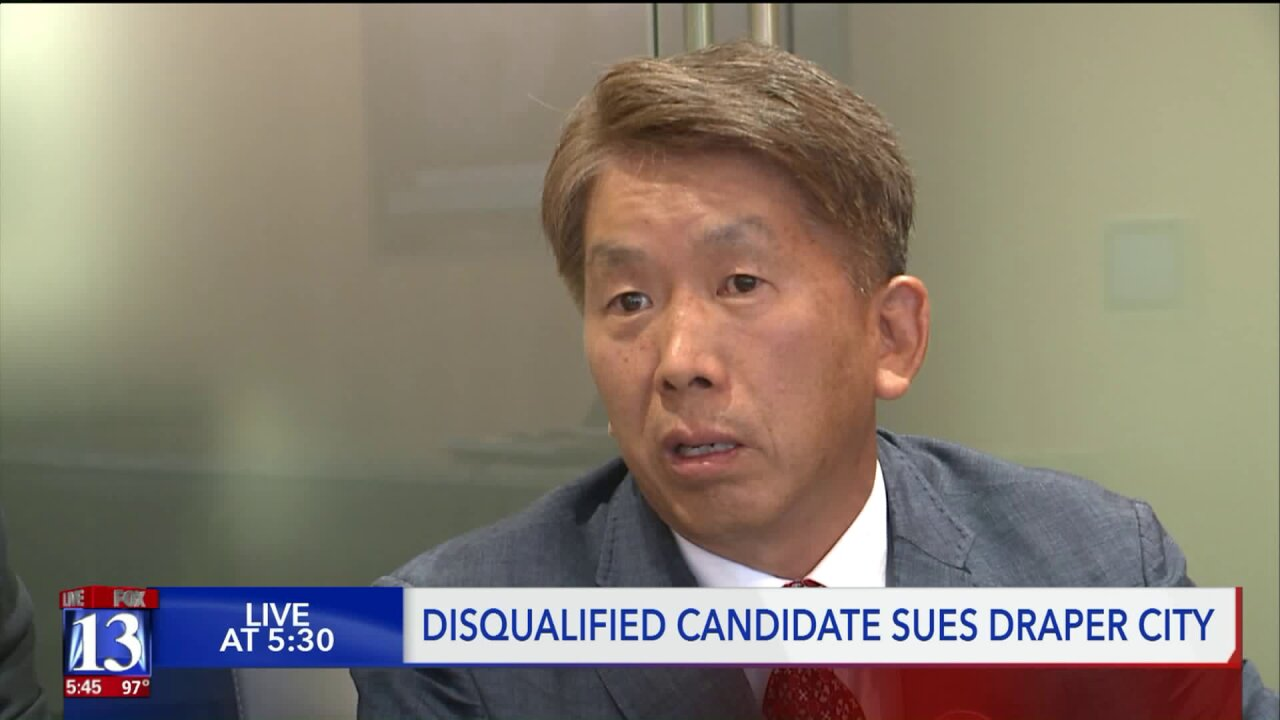 After last minute disqualification, Draper council candidate sues for place on ballot