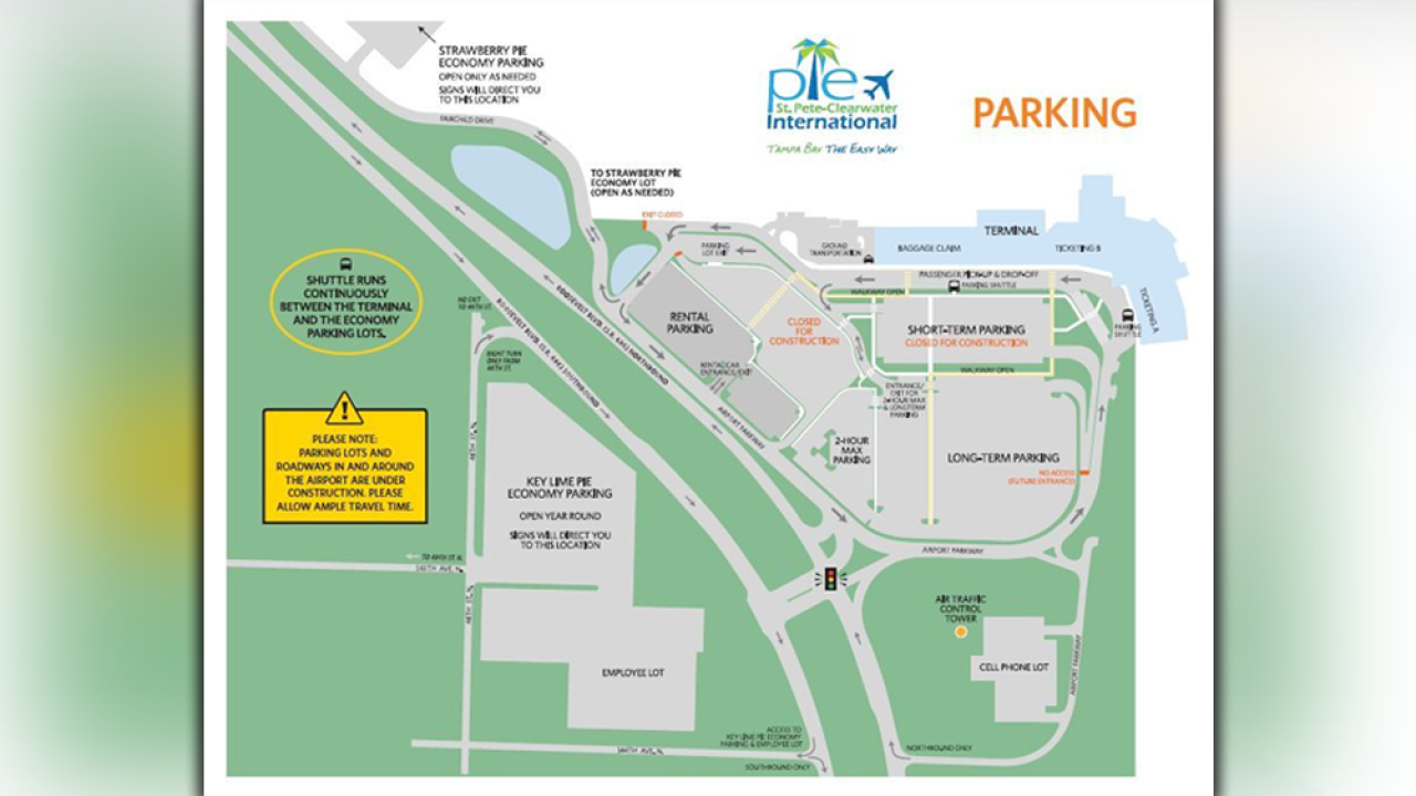 St. Pete Clearwater airport changes