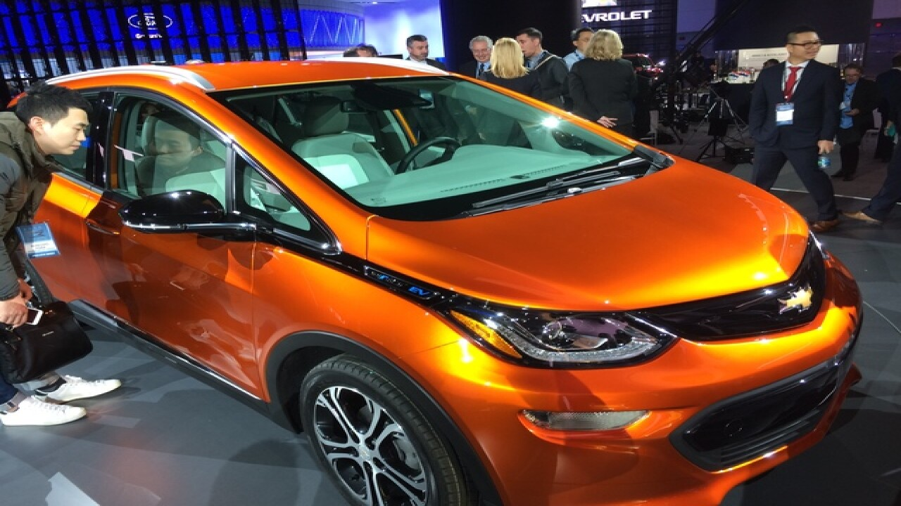 Chevrolet Bolt EV named 2017 Motor Trend Car of the Year