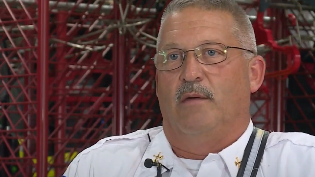 Richmond firefighters remember life of chief who donated his organs