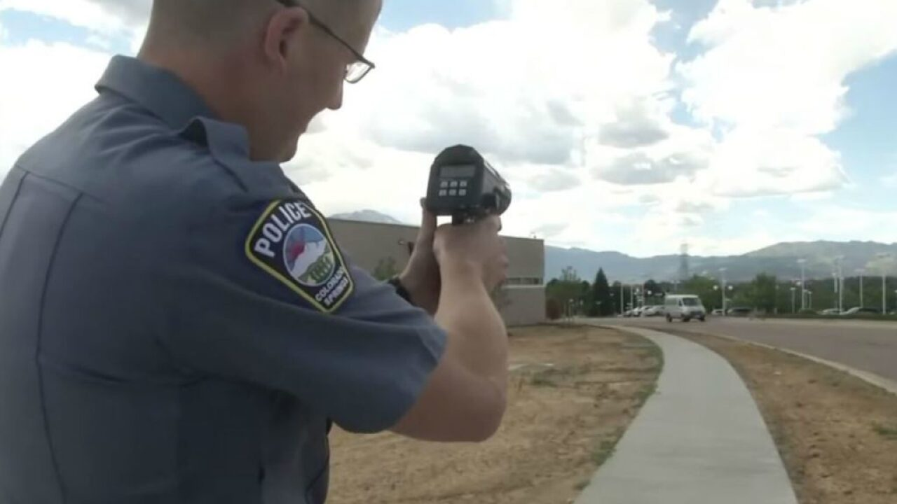 Colorado Springs speed enforcement